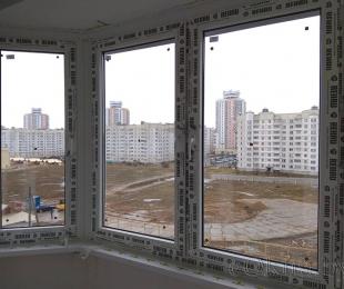 Балконная рама из ПВХ. Логойск. №10