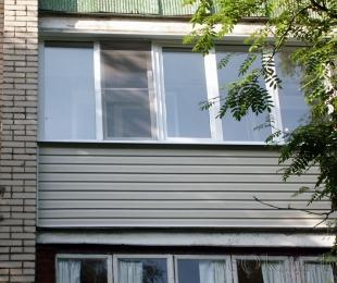 Балконная рама из ПВХ. Логойск. №6