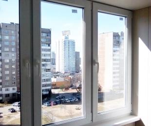 Балконная рама из ПВХ. Логойск. №1