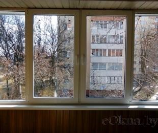 Балконная рама из ПВХ. Логойск. №7