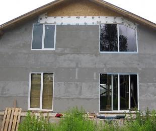 Пластиковые окна в частном доме. Логойск. №3