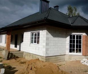 Пластиковые окна в частном доме. Логойск. №5-2