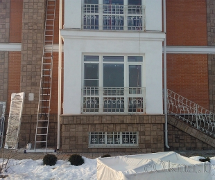Пластиковые окна в частном доме. Логойск. №6