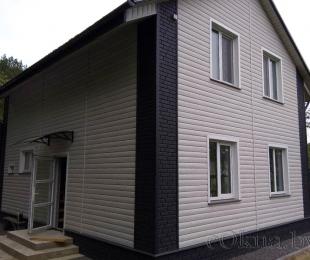 Пластиковые окна в доме. Логойск. №14