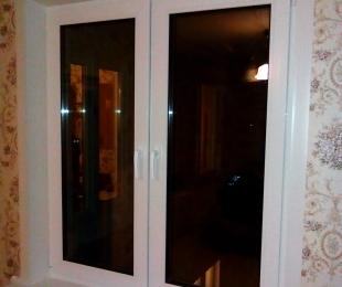 Пластиковые окна в квартире. Логойск. №7
