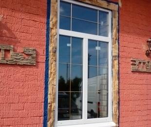 Пластиковые окна в частном доме. Логойск. №9-2