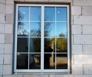 Пластиковые окна в доме. Логойск. №11