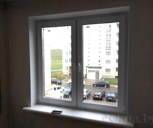 Пластиковые окна в квартире. Логойск. №15