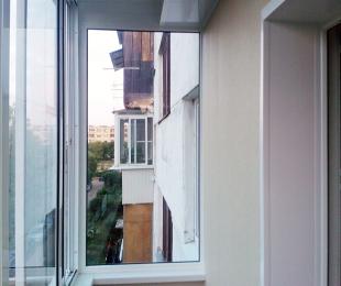 Балконная рама из алюминия. Логойск. №3