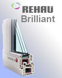 Оконный профиль Rehau Brilliant